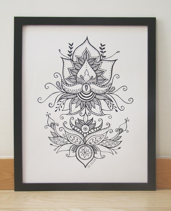 poster-floral-symmetry